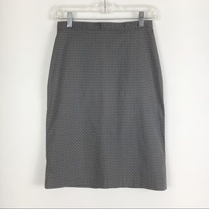 Vintage The Limited Grey Pink Skirt Size 2